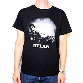 Amazon Com Old Skool Hooligans Bob Dylan T Shirt Guitar