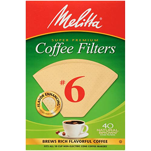 6 cone coffee filters - 1