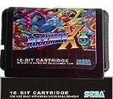 Sega 16bit MD games card: Rockman X3 For 16 bit sega MegaDrive games Genesis console