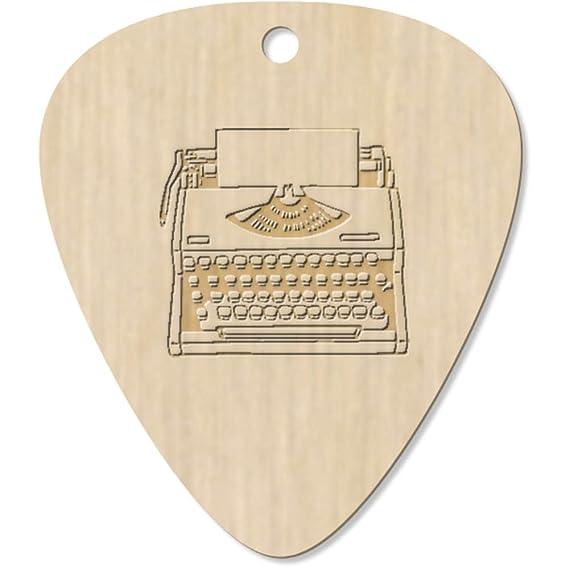 Azeeda 7 x Máquina de Escribir Guitarra Púa (GP00016267): Amazon.es: Juguetes y juegos