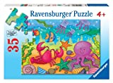 Ravensburger Under The Sea - 35 Piece Jigsaw Puzzle for Kids – Every Piece is Unique, Pieces Fit Together Perfectly
