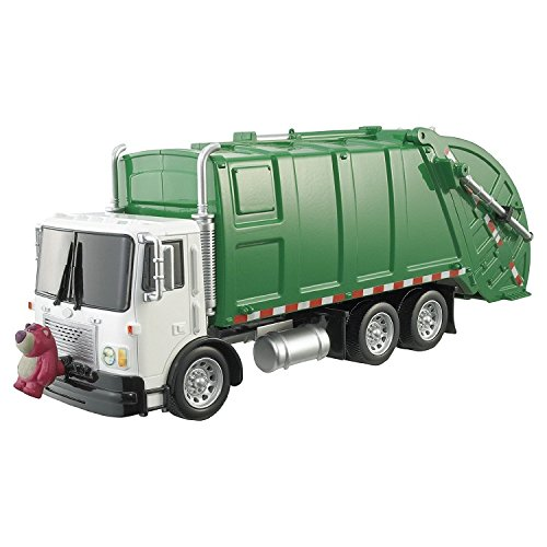 garbage truck with side loader - 6