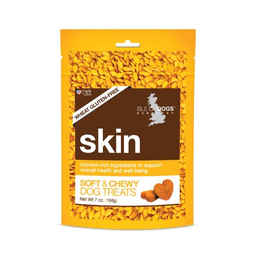 Isle of Dogs Skin Soft Chew Dog Treat, 7-Ounce