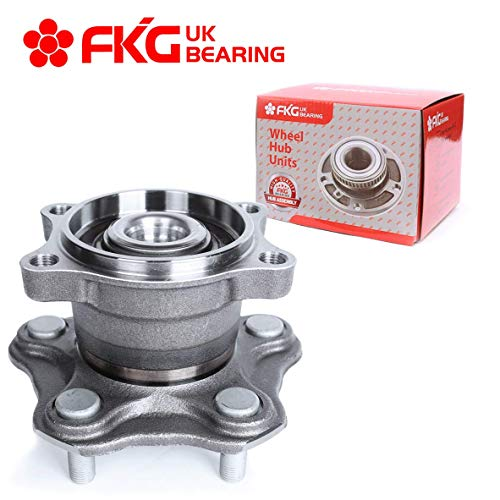 - FKG 512201 Rear Wheel Bearing Hub Assembly fit for 2002-2006 Nissan Altima, 2004-2008 Nissan Maxima, 2004-2009 Nissan Quest 5 Lugs