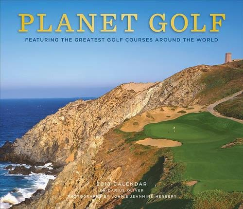 Planet Golf 2018 Wall Calendar cover