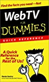 Web TV for Dummies®, Renée Gentry, 0764506986