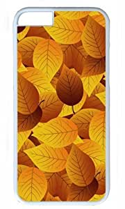 Autumn leaves Thanksgiving Halloween Masterpiece Limited Design PC White Case for iphone 6 pluse by Cases & Mousepads by ruishername