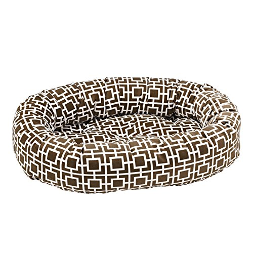 Courtyard Taupe Small Courtyard Taupe Small Bowsers Donut Bed, Small, Courtyard Taupe
