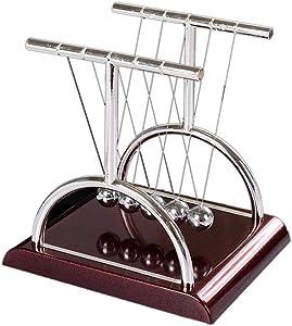 Creative T-Shaped Newton Pendulum Ball Cradle Balance Balls Physics Pendulum Office Desk Decoration Classic Toy