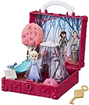 Disney Frozen Pop Adventures Enchanted Forest Set Pop-Up Playset with Handle, Including Elsa Doll, Toy Inspire