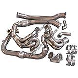 lsx turbo kit - LS1 Turbo Manifold Header Downpipe Kit For Subaru BRZ/Scion FRS LSx Swap