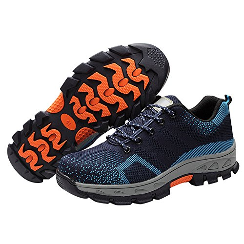 Toe Work Shoes Safety Shoes Comp Optimal Shoes Steel Men's Blue qHwRfF