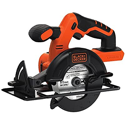 Black & Decker BDCCS20B 20-Volt MAX Lithium-Ion Circular Saw Bare Tool, 5.5-Inch. from Black & Decker
