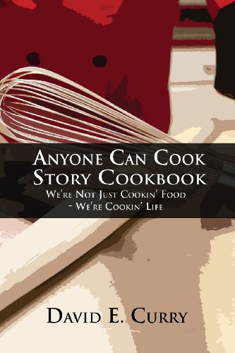 Anyone Can Cook Story Cookbook: We're Not