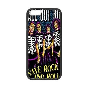 iPhone 6 6S 4.7 Inch funda Negro [PC dura del caso + HD Pattern] FOB Fall Out Boy ® Series [Numeración: JJJJDHKOD3713]