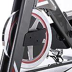 NXX-Cyclette-Bicicletta-Spinning-Bike-ProfessionaleVolanica-22Kg-Unisex-Adulto-Trasmissione-A-Cinghia-Sensori-delle-Pulsazioni