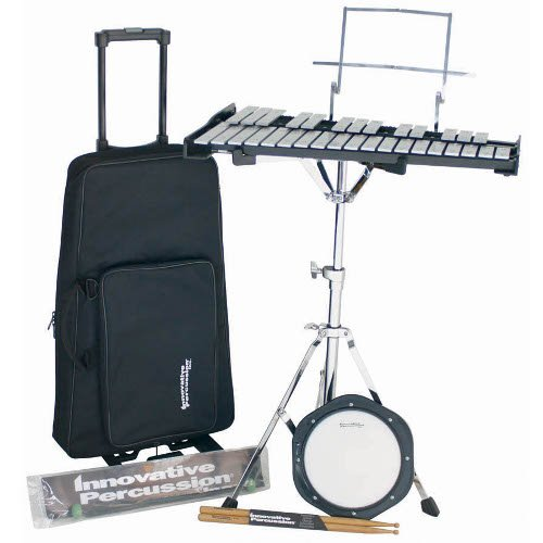 Innovative Percussion Bell Kit with Bag, Stand and Practice Pad