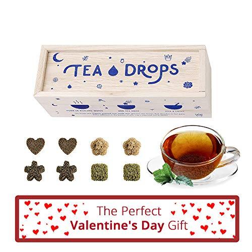 Sweetened Loose Leaf Tea Drops Standard Sampler Tea Drops