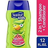 suave kids conditioner - Suave Kids 2 in 1 Shampoo and Conditioner, Wild Watermelon 12 Ounce