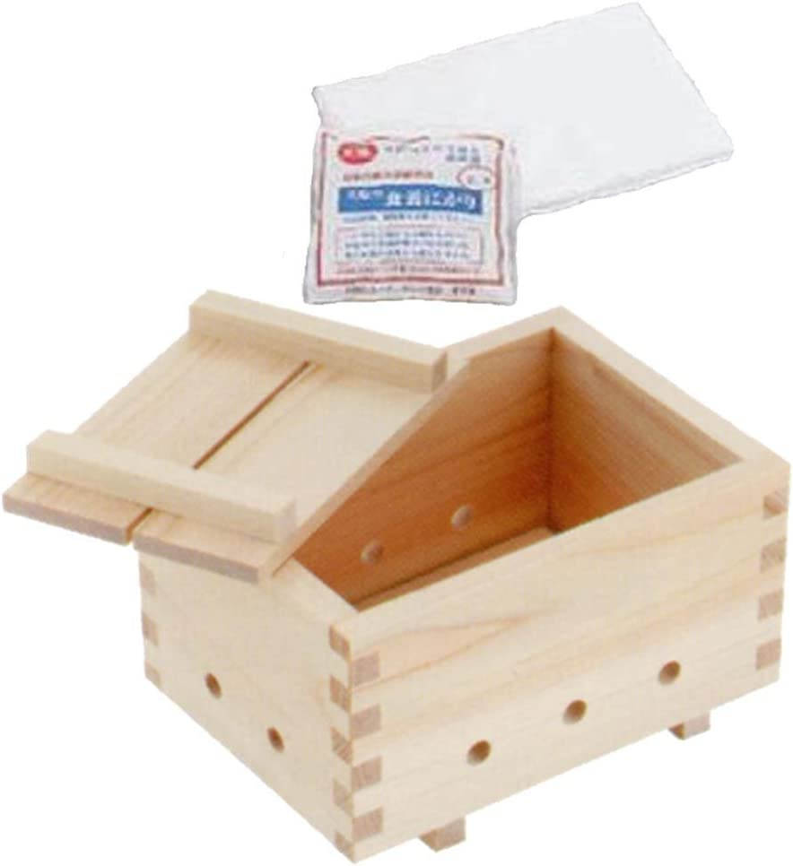 Japan Made Tofu Maker Press Mold Kit set Steel for professional cooking