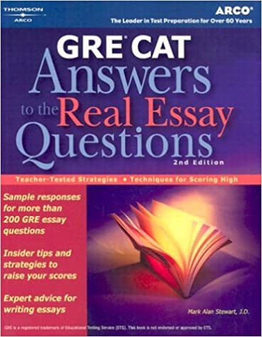 gre cat answers to real essay questions peterson s gre answers to gre cat answers to real essay questions peterson s gre answers to the real essay questions 2nd edition