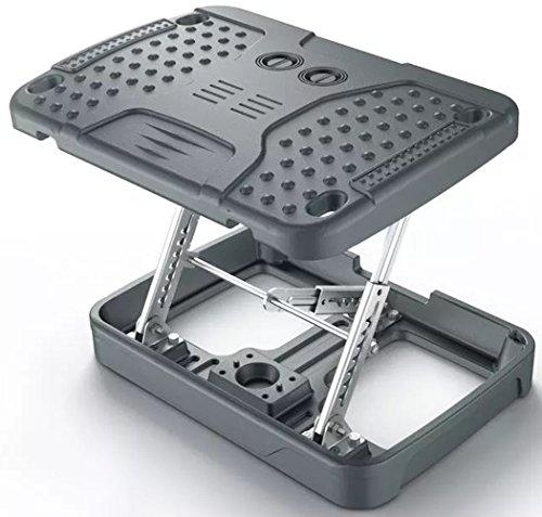 Adjustable Footrest For Home Office, Or Under Desk ergonomic Massaging Foot Rest ( Footstool ) (Heavy Duty)