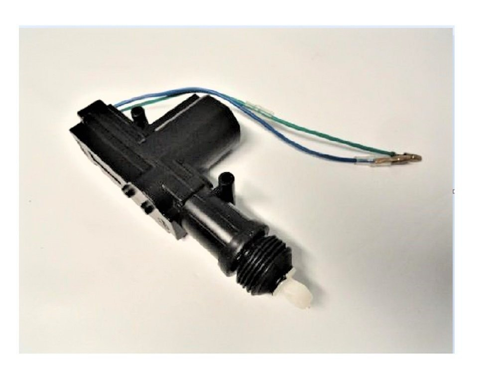 2 Pack of Universal Actuators for Power Door Lock Conversion Kits or Alarms Locking System Kit 2 or 4 Door 360 Degree