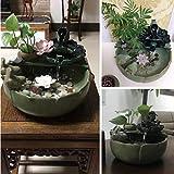 Indoor Desktop Fountain Ceramic Water Fountain