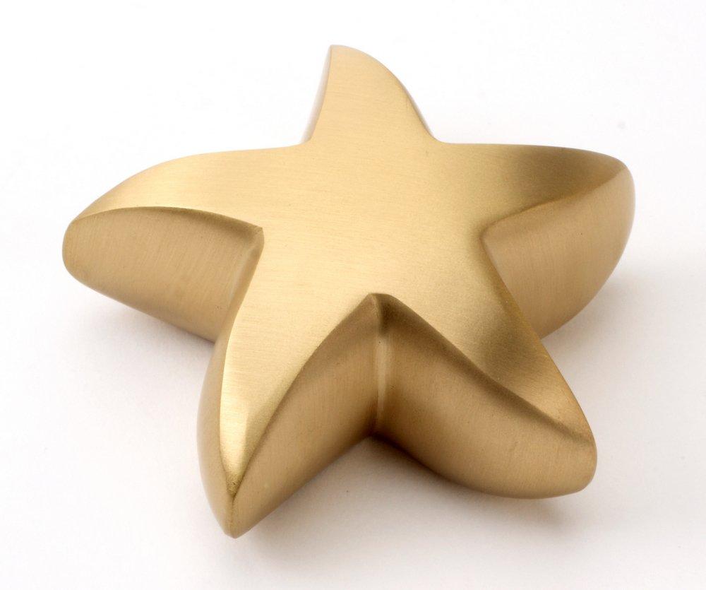 Urns UK Gedenkurne Star für Haustiere, messing, 7,6cm