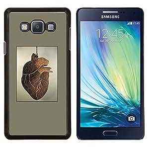Stuss Case / Funda Carcasa protectora - Pintura del Corazón Anatomía Arte Dibujo Humano - Samsung Galaxy A7 A7000