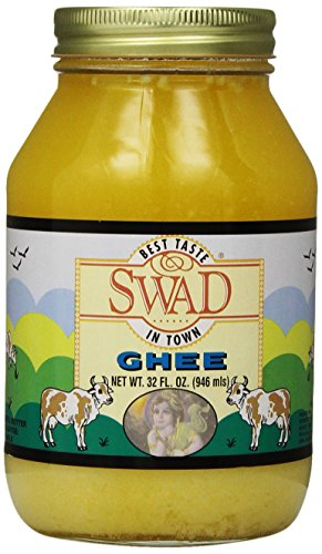 Swad Pure Ghee Clarified Butter, 32 Ounce