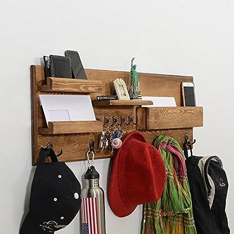 Amazon.com: Organizador de pared profesional, ganchos para ...