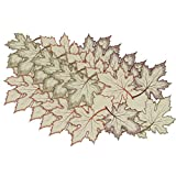 Design Imports Maple Leaves Placemats 6pcs (Set of 2)