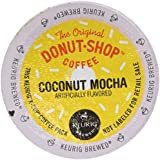 36 Count - Coffee People Donut Shop Flavored Coconut Mocha K-Cups For keurig Brewers
