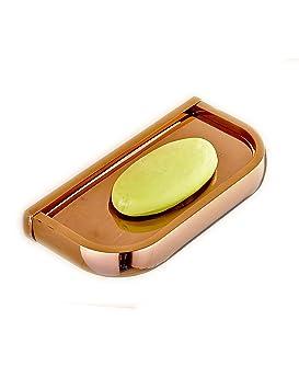 Jaboneras HAIZHEN Bronce Antiguo Estilo Europeo Jabón Porta-jabón Rosa Oro Negro Bronce Retro Cobre Puro Hardware Baño Accesorios (Color : 4): Amazon.es: ...