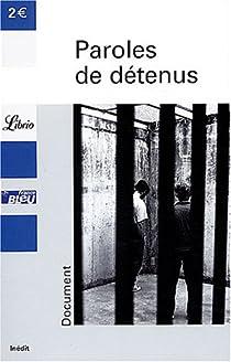 Paroles de détenus par Guéno