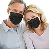 Black Disposable Face Mask 4 Ply Medical Face Mask