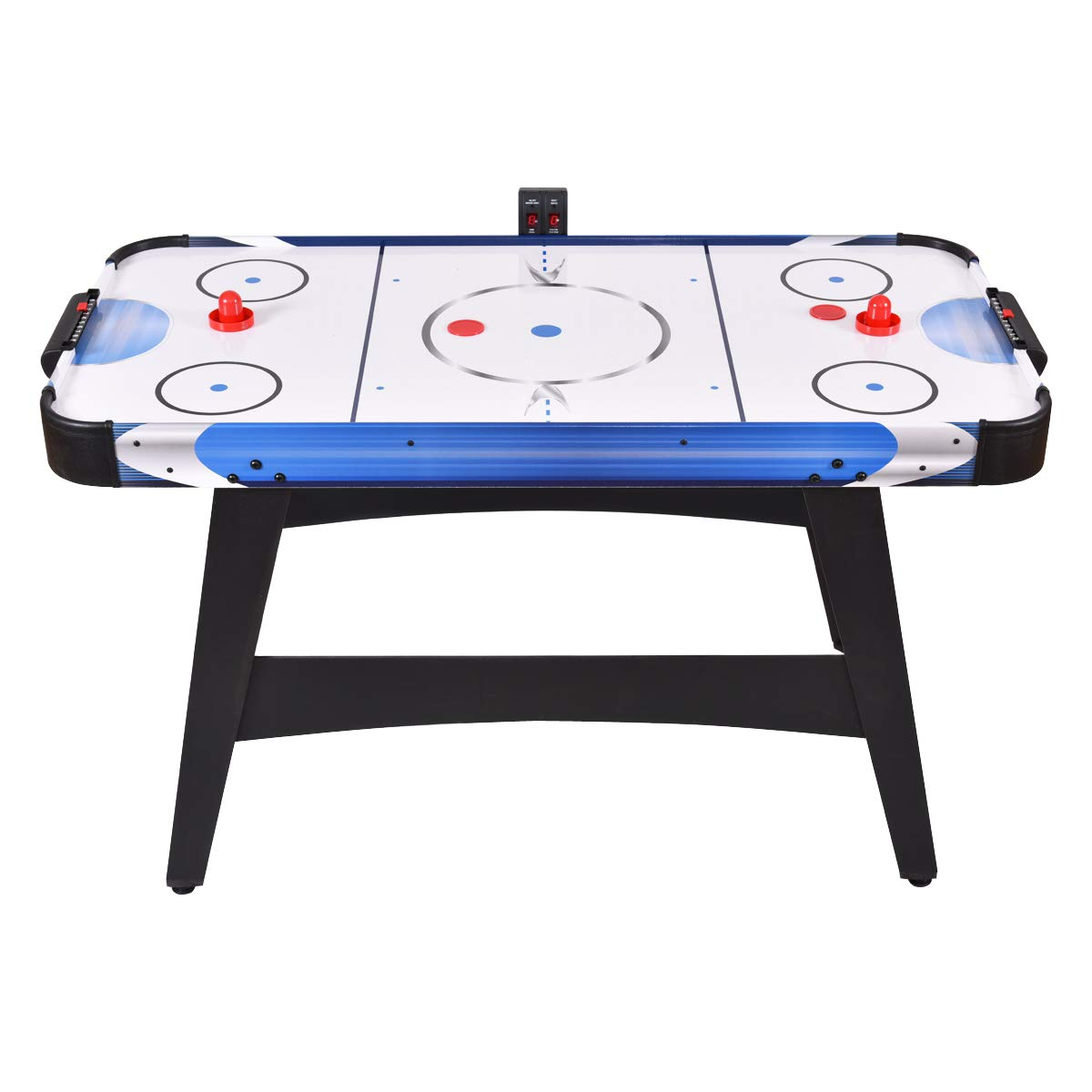 GYMAX 54'' Air Hockey Table, Electric Air Powered Hockey with 2 Pucks 2 Pushers Electronic Scorer,for Kids and Adults by GYMAX