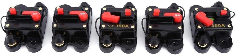 Leistungsschalter 80-300A Automatische Sicherung Automat Marine KFZ 12V DC