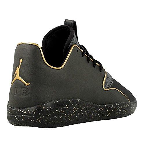 Nike Jordan Eclipse Holiday, Zapatillas de Deporte para Hombre Negro / Dorado (Black / Metallic Gold-Mtllc Gold)