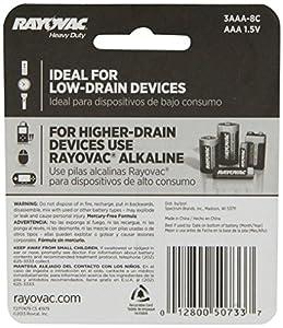 Rayovac Heavy Duty Batteries