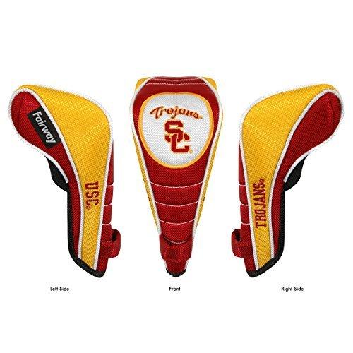 USC Trojans Shaft Gripper Fairway Headcover by Team Effort ()