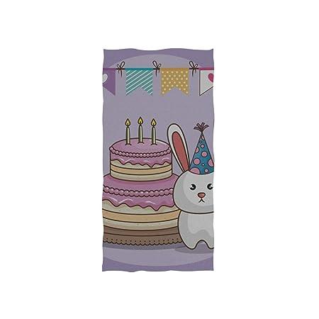 Fiesta cumpleaños Celebre Cupcake Dibujos animados Spa suave ...