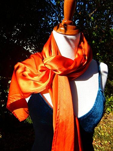 80% Off, Oversized Silk Scarf, Silk Shawl, Evening Shawl, Handmade by Silky Affection
