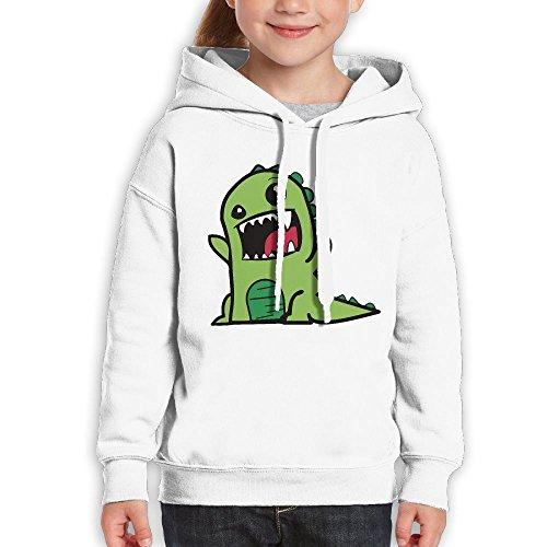 Georgetown Football Rug (Teenagers Dinosaur Baby Teen Hoodies White Pullover Hooded Youngsters Sweatshirt With Boys Girls)