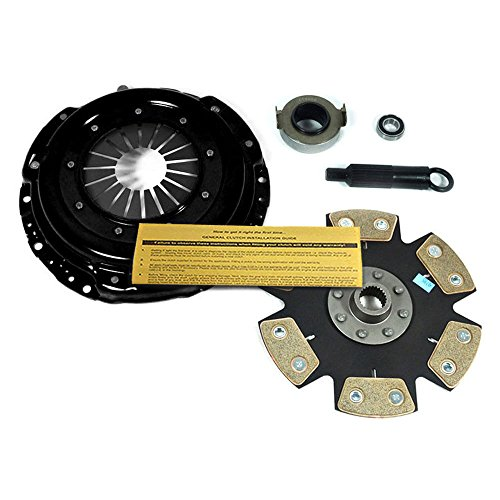 EFT XTREME 6-PUCK RIGID HDR6 CLUTCH PRO-KIT for 90-91 ACURA INTEGRA 1.8L B18