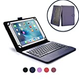 Acer Aspire Switch 10 keyboard case, COOPER INFINITE EXECUTIVE 2-in-1 Wireless Bluetooth Keyboard Magnetic Leather Travel Cases Cover Holder Folio Portfolio + Stand Switch 10 (Dark Blue)