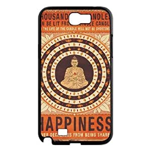 Buddha Cell Phone Case for Samsung Galaxy Note2 N7100,diy Buddha cell phone case series 4