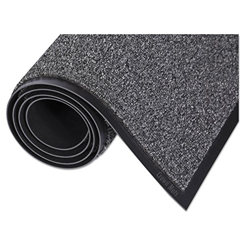 (Crown WA0035GY Walk-A-Way Indoor Wiper Mat, Olefin, 36 x 60, Gray)