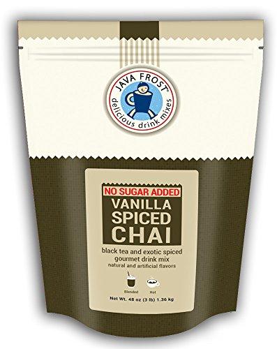 No Sugar Added Vanilla Spiced Chai - 3 lb bag